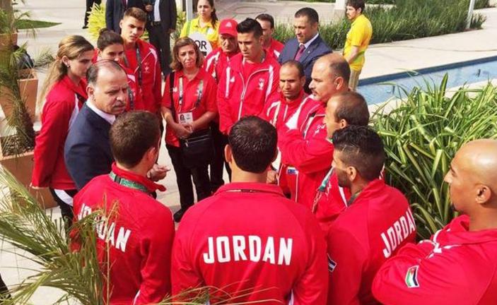 الأمير فيصل يشيد بجهود الفريق الأردني المشارك في أولمبياد ريو