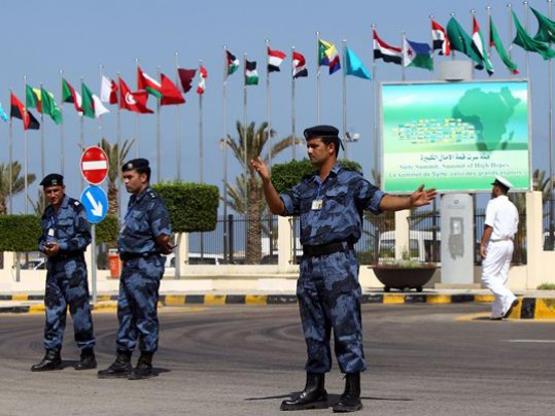 تدريب اردني للأمن الليبي
