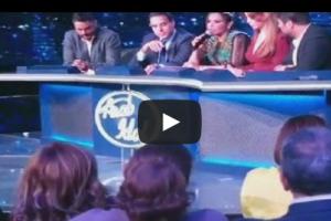"""بالفيديو.. أحلام تغضب والصحافة تنسحب من """"أراب أيدول"""""""