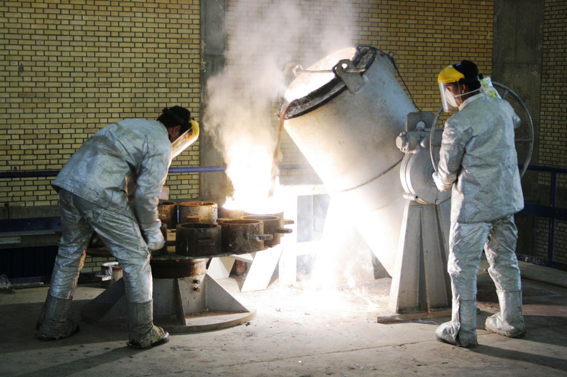 التلفزيون الإيراني يعلن زيادة المخزون من اليورانيوم منخفض التخصيب