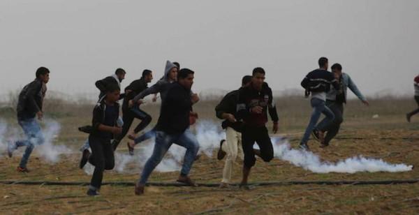 """اصابة أكثر من 130 فلسطينا في جمعة """" غزة صامدة وما بتركعش"""""""