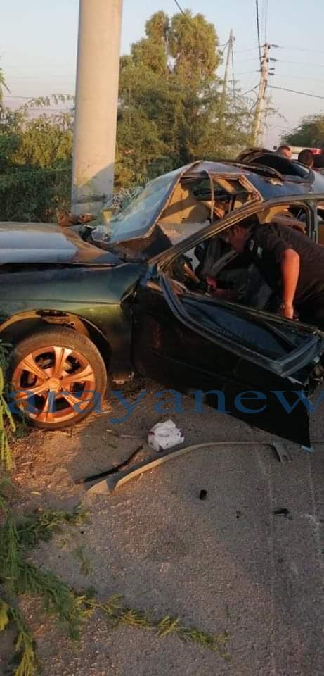 وفاة شخصين إثر حادث تدهور في محافظة البلقاء ..  صور