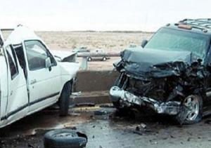وفاة شخص وإصابة 3 أخرين بحادث تصادم في أم الجمال