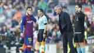 أول تعليق من مدرب برشلونة حول مسألة رحيل ميسي عن النادي الكتالوني
