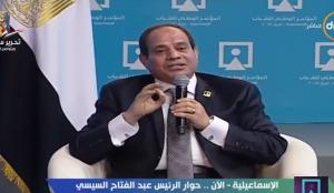 """بالفيديو .. """"السيسي""""  للمصريين: إحنا غلابة اوي"""