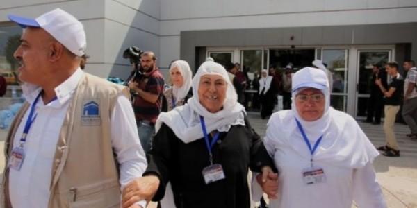 اكتمال وصول حجاج قطاع غزة