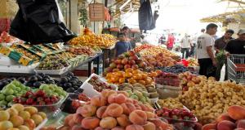 أسعار الخضار والفواكه في السوق المركزي
