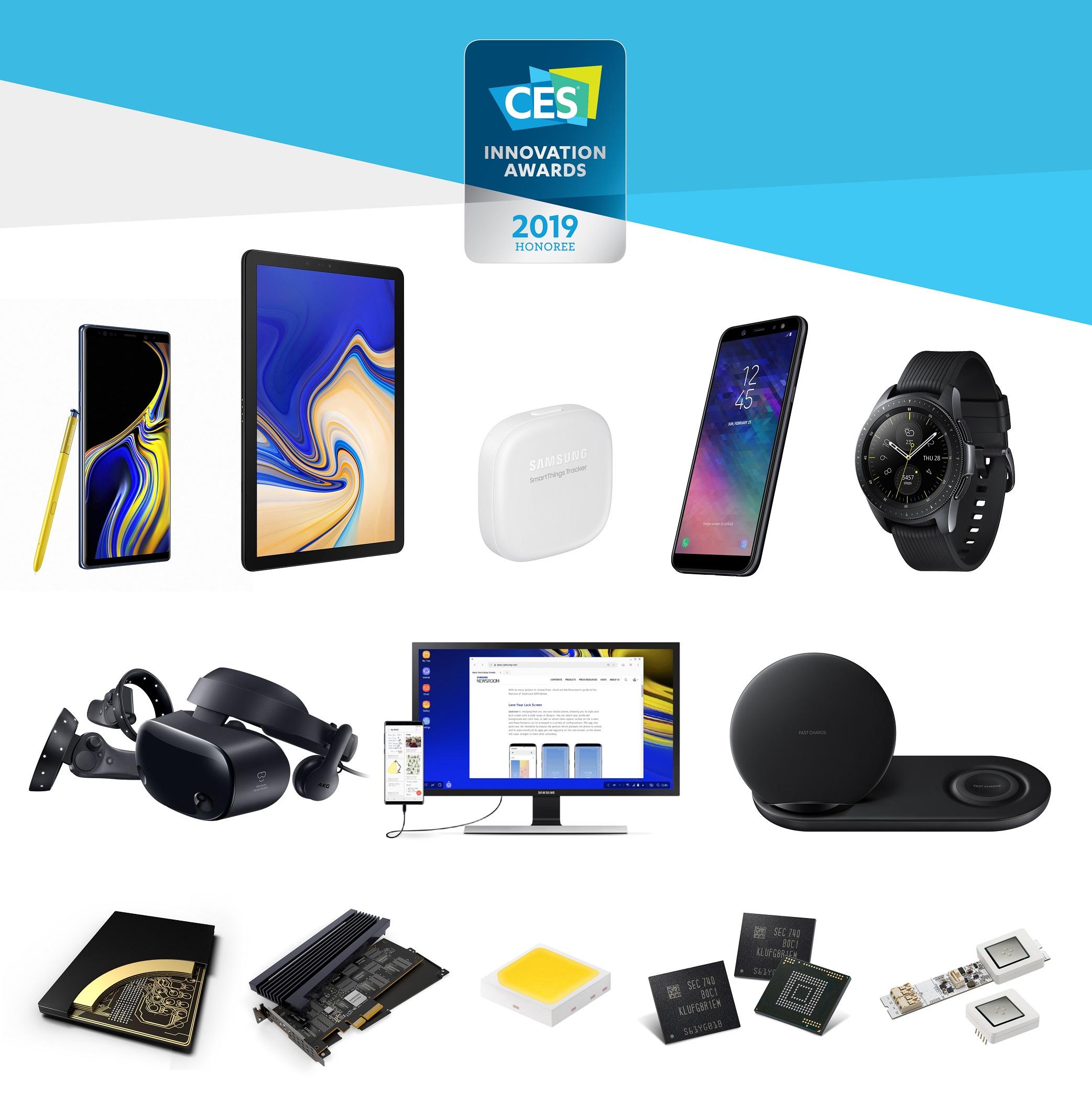 سامسونج تحصد 30 جائزة من جوائز الإبتكار بالمعرض الدولي للإلكترونيات الاستهلاكية 2019CES