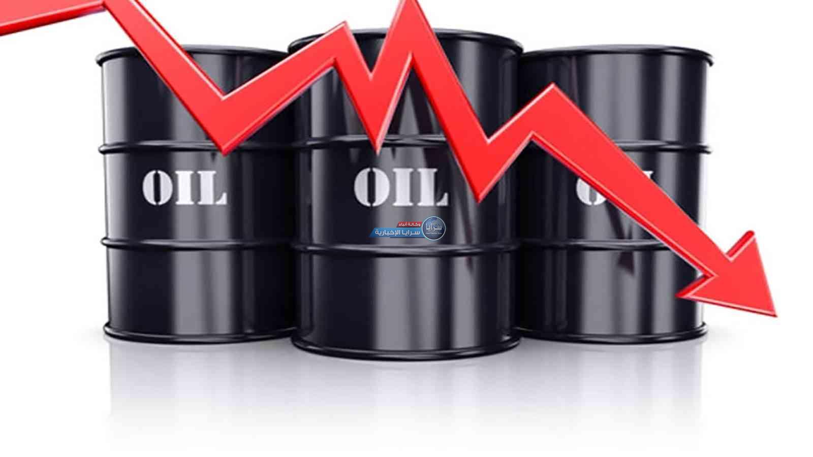 انخفاض أسعار النفط نتيجة ارتفاع الدولار وزيادة عدد حفارات النفط بأمريكا