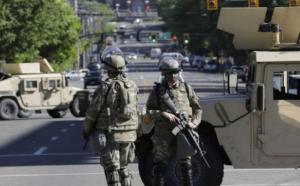 الجيش الأمريكي يتدخل لحماية واشنطن ..  بـ 1600 جندي