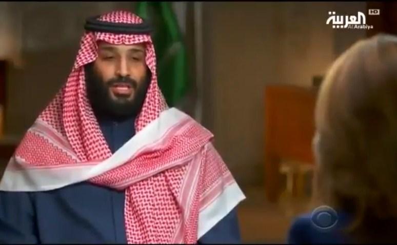 بالفيديو  ..  محمد بن سلمان : العباءة ليست شرطاً
