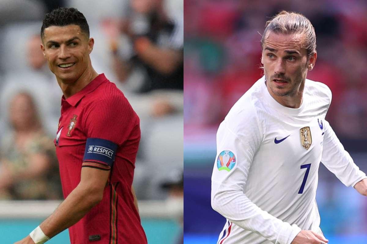 فرنسا ضد البرتغال  ..  أبرز مباريات اليوم الأربعاء 23 يونيو 2021 والقنوات الناقلة