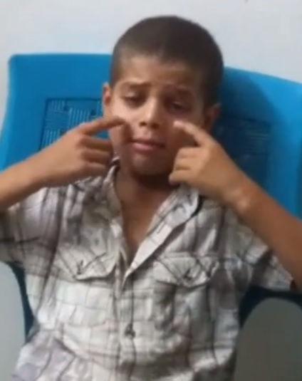 بالفيديو.. طفل سوري تغنى بالموت فاختطفه سريعاً