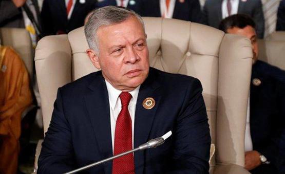 الملك يحذر من الإجراءات الأحادية في فلسطين