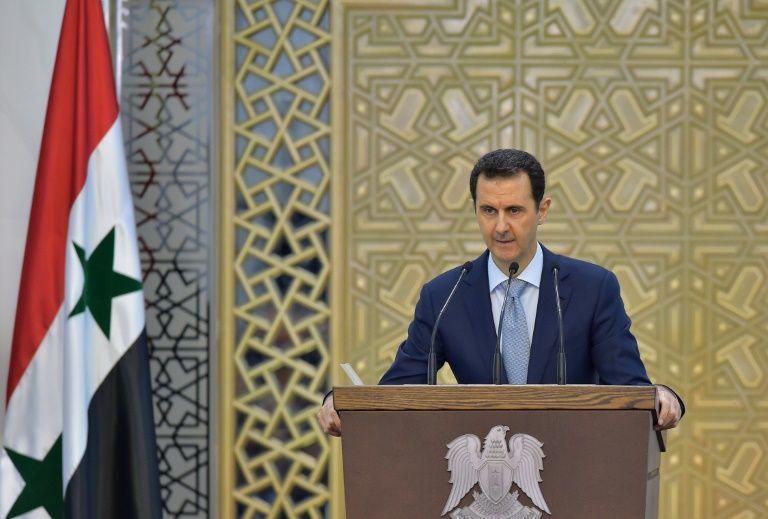 الأسد يوقف كلمته بسبب هبوط مفاجئ في الضغط