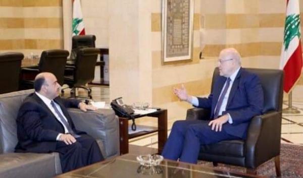 ميقاتي يستقبل السفير الأردني في لبنان