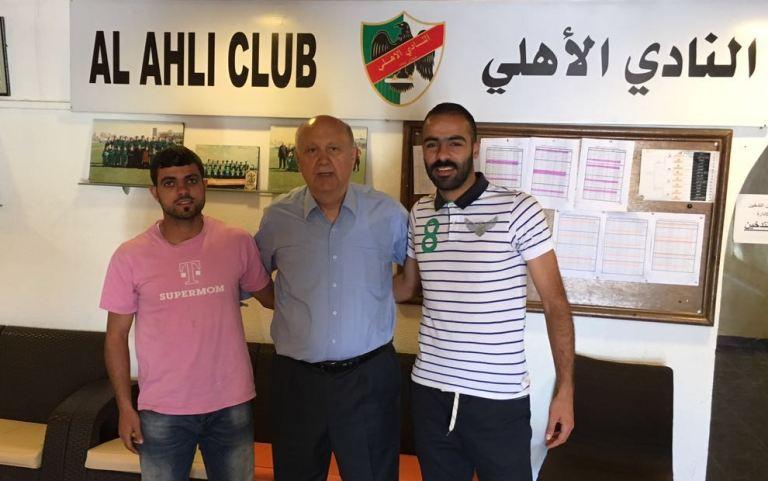 الأهلي الأردني يجدد عقد عاصي والسلو