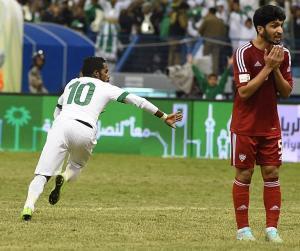 فيديو: السعودية تعبر الإمارات بالدقائق الأخيرة وتتأهل لنهائي خليجي 22