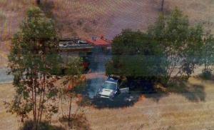 """تفاصيل اشتعال النيران حول سيارة متسابق في """"الرمان الدولي"""""""