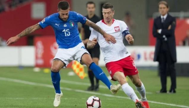 بالفيديو ..  إيطاليا تحقق فوزاً قاتلاً على حساب بولندا
