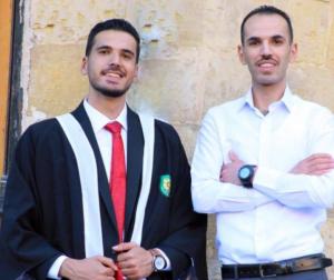 القانوني جواد محمد الخرابشة  ..  مبارك التخرج