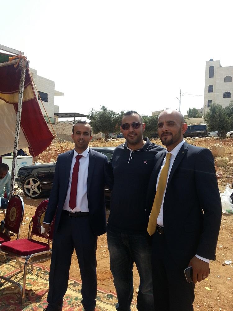احمد و يوسف العدوان مبارك الزفاف