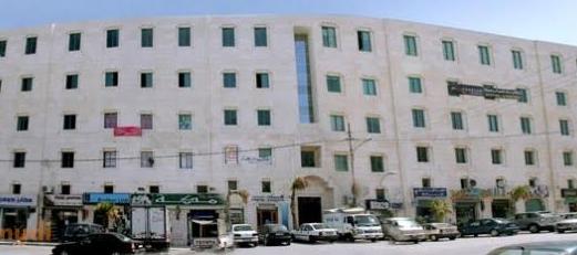 مكتب 490 م للايجار في ضاحية الرشيد خلف مركز الحسين للسرطان