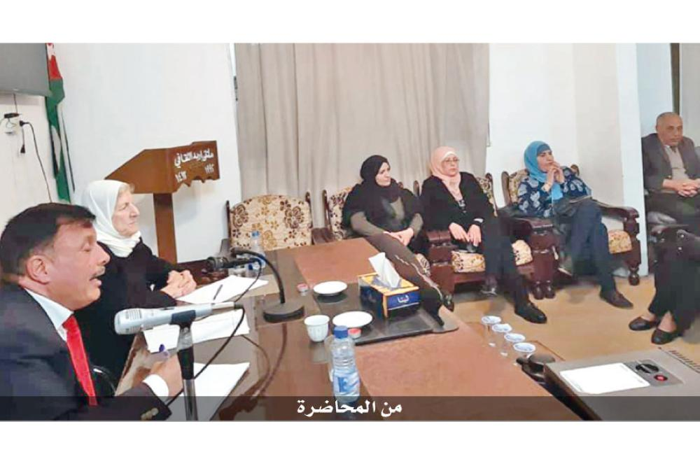 الزبيدي: المرأة الأردنية تواجه معيقات ثقافية واجتماعية
