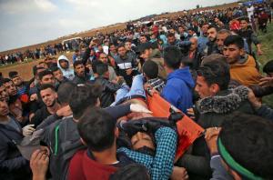 شهيدان و40 مصاب في جمعة الشهداء والأسرى