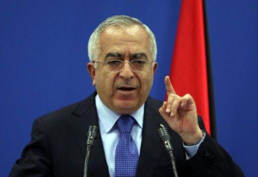 عباس يقبل استقالة فياض ويكلفه تسيير اعمال الحكومة