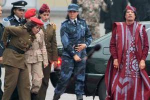 """بالصور .. """"عشيقة"""" القذافي تعود لليبيا"""