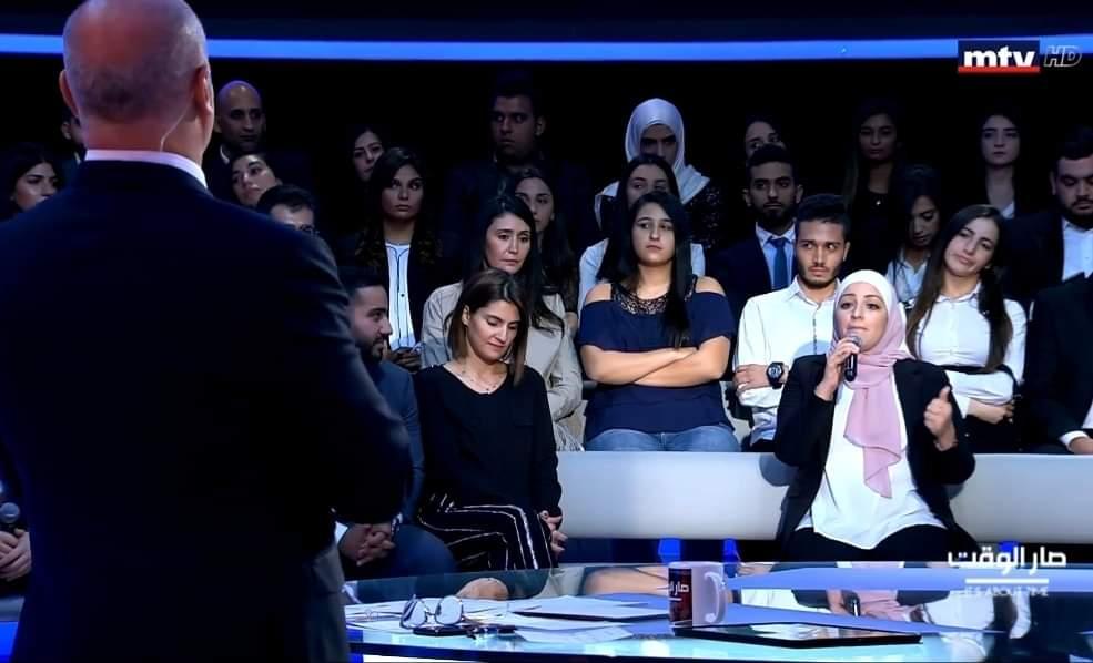 النشمية الاردنية هنية الضمور تبدع وتتالق في فضاء بيروت