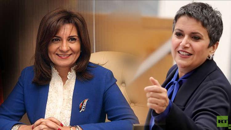 """بالفيديو .. هجوم من الكويت على وزيرة مصرية بعد تصريح """"كرامة المرأة المصرية خط أحمر"""""""