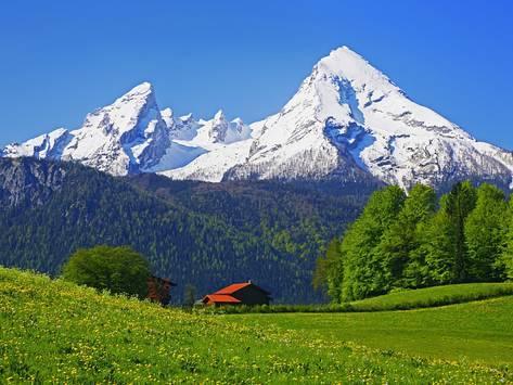 تعرف بالصور على جبال الألب البافارية