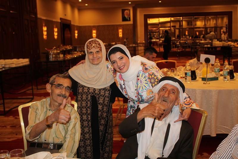 حفل إفطار لنزلاء دار رعاية المسنين  ..  صور