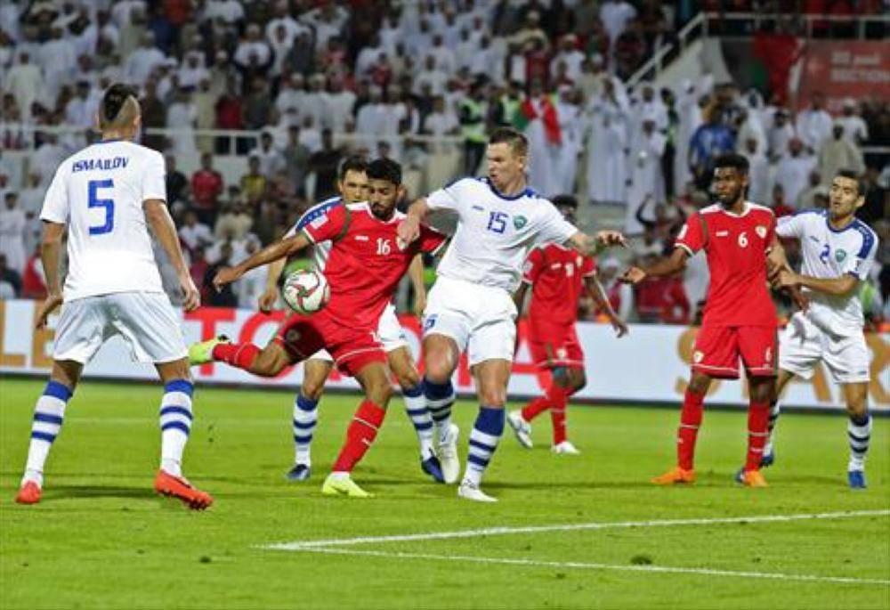 عُمان تخسر أمام أوزبكستان بكأس آسيا