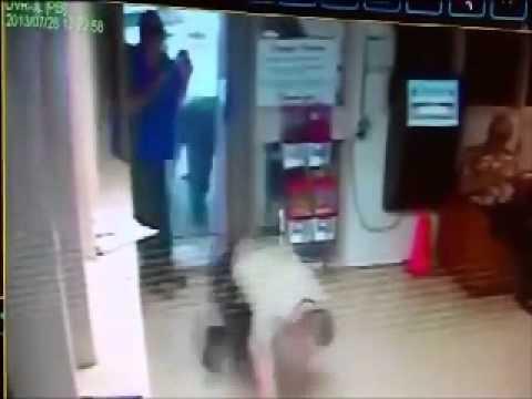 بالفيديو.. لحظة هروب سجين من سجن أميركي