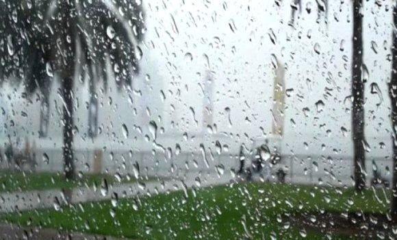 المملكة تشهد فرصة لتساقط الامطار خلال الساعات القادمة
