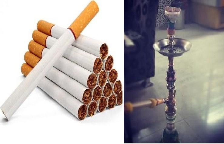 الارجيلة لمدة ربع ساعة يعادل التدخين 300 سيجارة يومياً