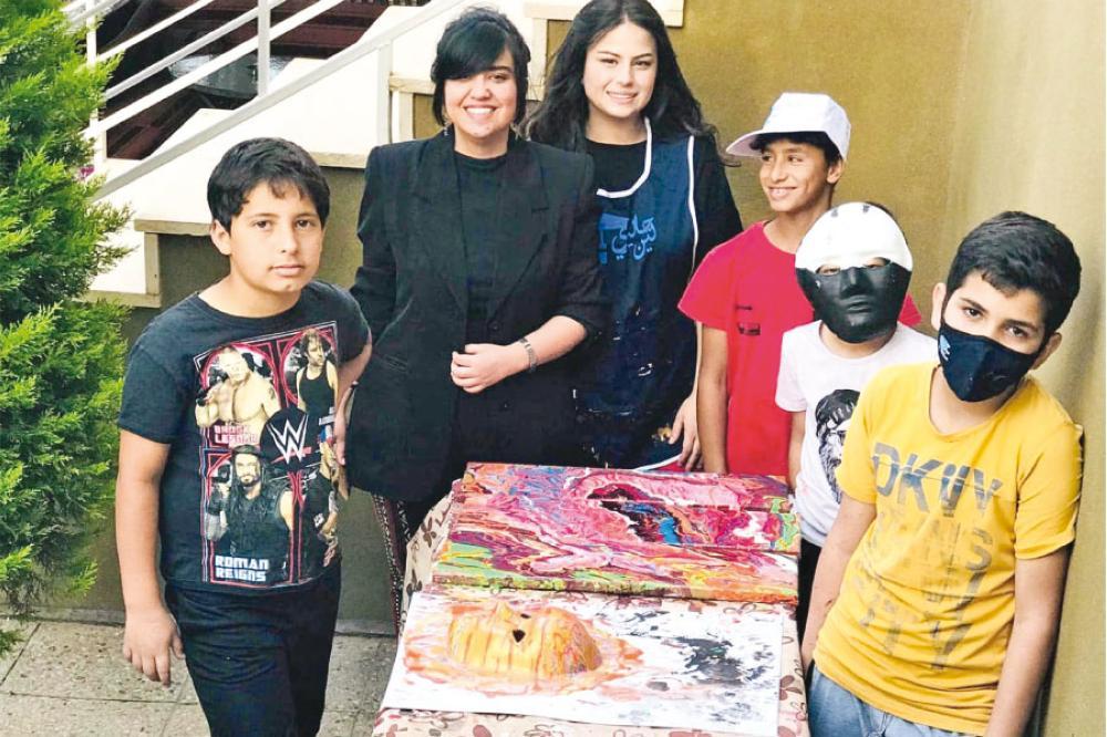 لين الطراونة: أطمح لتنمية ثقافة الأطفال الفنية وتطوير مواهبهم