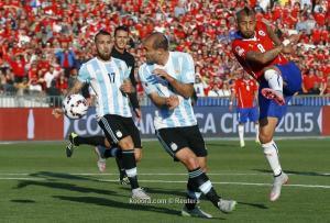 الارجنتين تخسر معركة الاستحواذ امام تشيلي