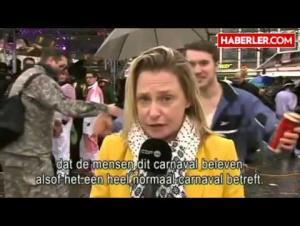 بالفيديو .. التحرش بمراسلة على الهواء يبرئ اللاجئين من تحرش رأس السنة بألمانيا