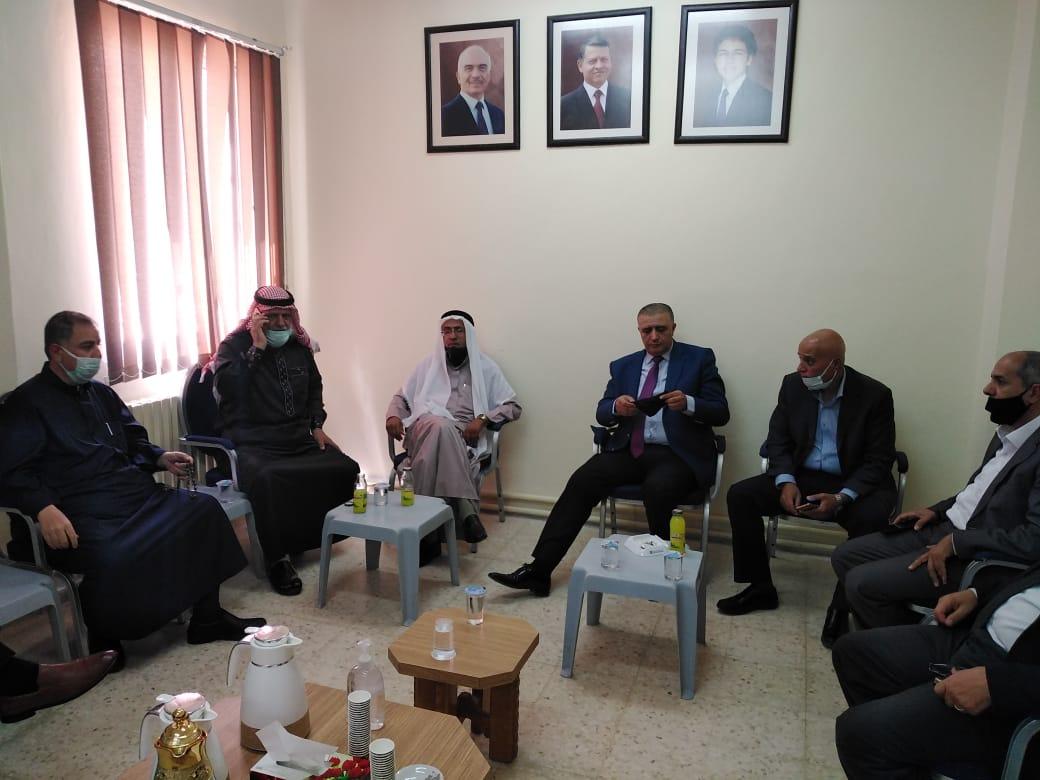مؤسسة التدريب المهني تجري لقاءا موسعا  لبحث الخطة التطويرية لمعاهد التدريب المهني في محافظة معان