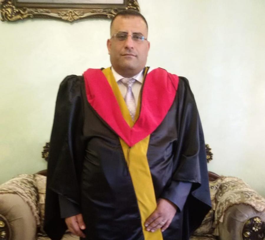 الدكتور عماد الصرايرة  ..  مبارك التفوق والنجاح
