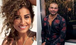 كواليس اللقاء الأول بين عمرو دياب ودينا الشربيني بعد الطلاق ..  تصرفات غير متوقعة من «الهضبة»