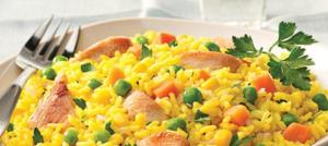 الأرز الصيني بالخضار