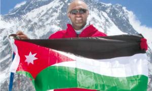 بطل الأردن بالتسلق: أتطلع أن أكون رائد فضاء في 2020