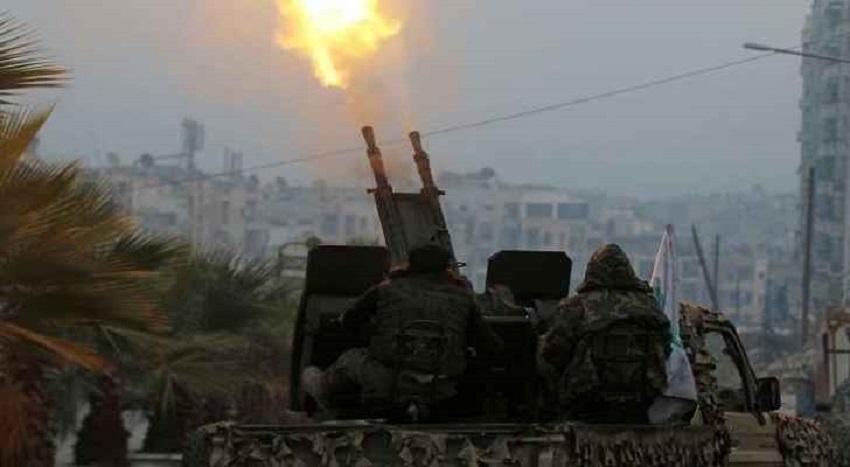 دمشق تعلن التصدي لضربات جوية من الاحتلال وإصابة طائرة