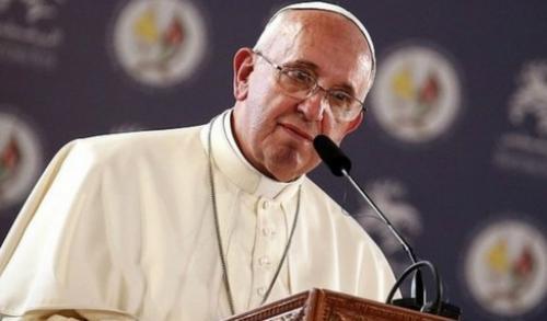البابا فرانسيس يصل بيت لحم دون المرور على اسرائيل