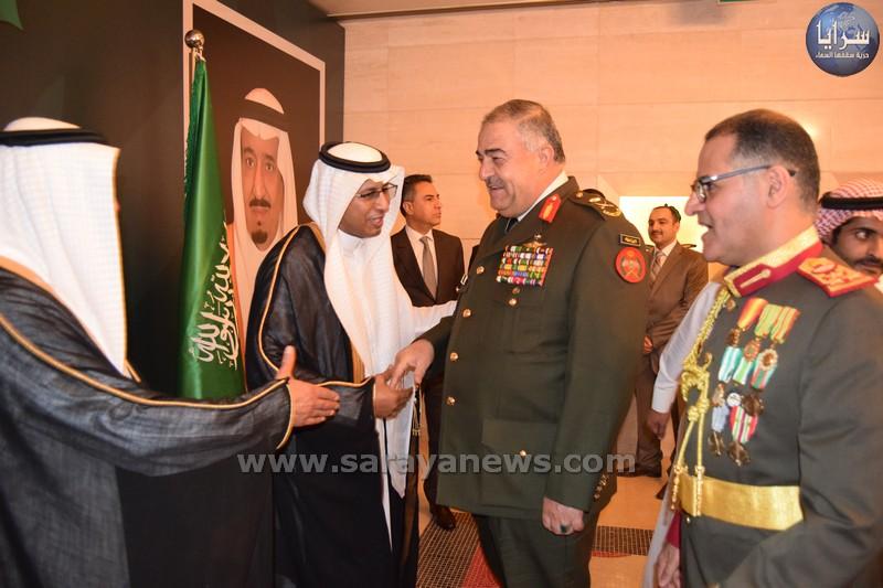 بالصور ..  السفارة السعودية في الاردن تحتفل بمناسبة اليوم الوطني الثامن والثمانون